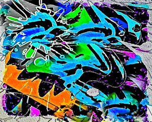 Jumping backstreets urban abstract