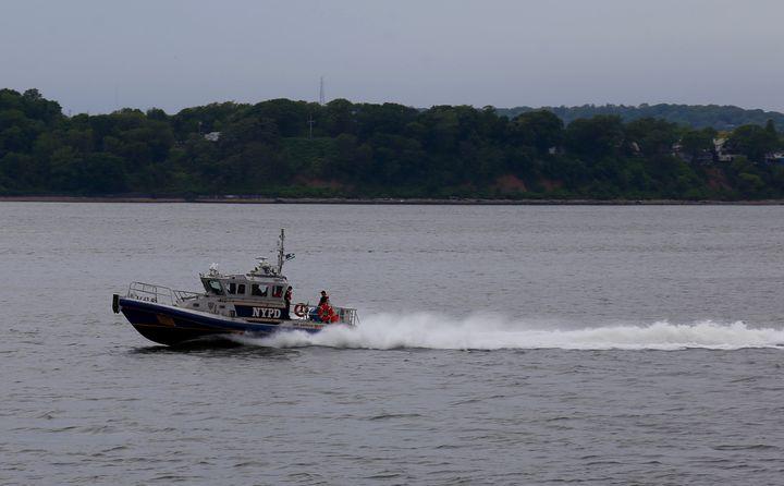 NYPD harbor patrol - Brooklyn Xpressions