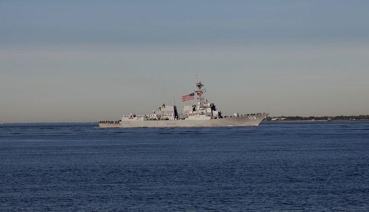 109 Navy ship fleet week - Brooklyn Xpressions
