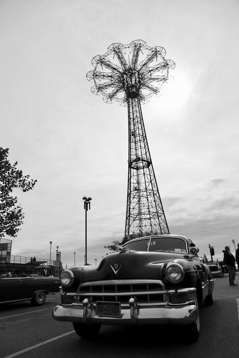 Cadillac at Steeplechase  Luna Park - Brooklyn Xpressions