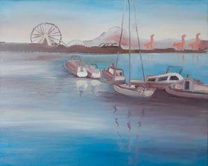 Blue Elliot Bay