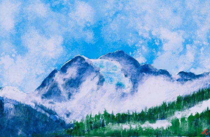 Mount Shuksan, North Cascades 2 - Nine Peaks Art