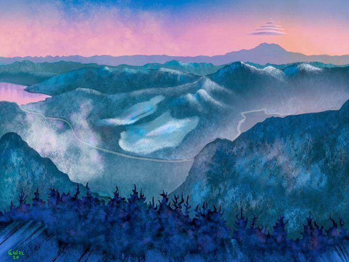 Snoqualmie Pass - Nine Peaks Art