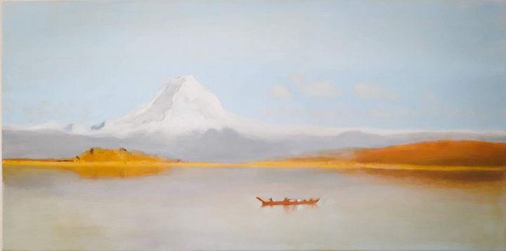 Mounts Tacoma, after - Nine Peaks Art