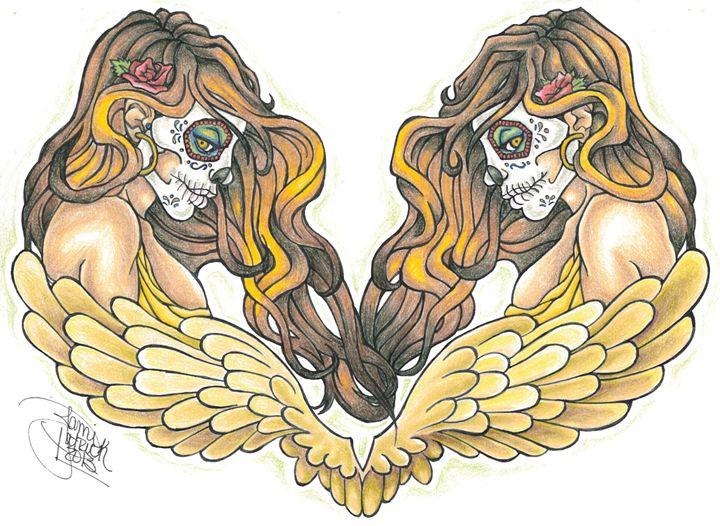 Twin Skulls - Jami Patrick