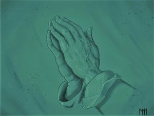 Praying hands - Kilosh_Art