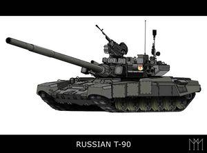 Russian T-90 - Kilosh_Art