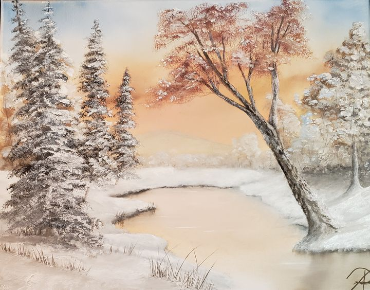 Frozen stream - ALR Art