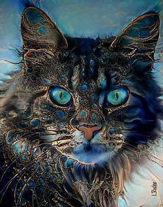 Randy - cat 70x55 cm