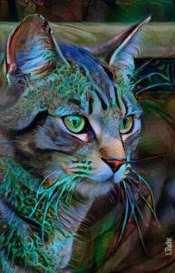 zorbay, cat - 70x45 cm