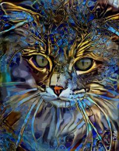 Namo, cat - 70x55 cm
