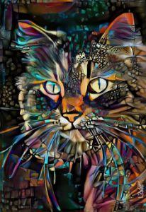 Verdel, cat - 70x48 cm