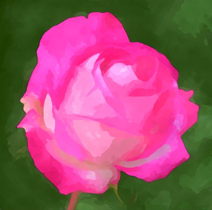 The pink flower - Esa Myllylä
