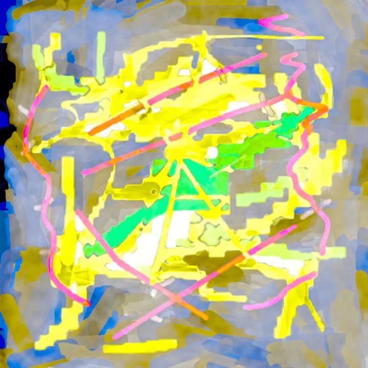 Abstract work Nr 8 - Esa Myllylä