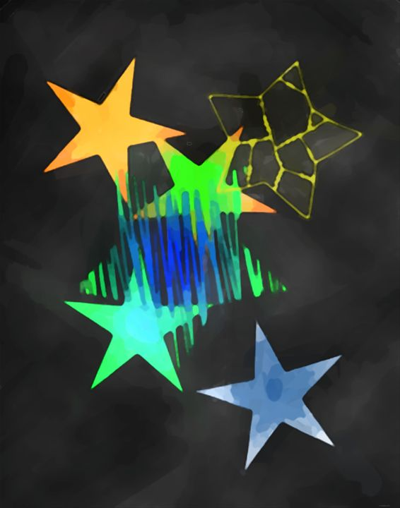 Abstract art nr 4 - Esa Myllylä