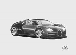 Bugatti Veyron - Christopher Cox
