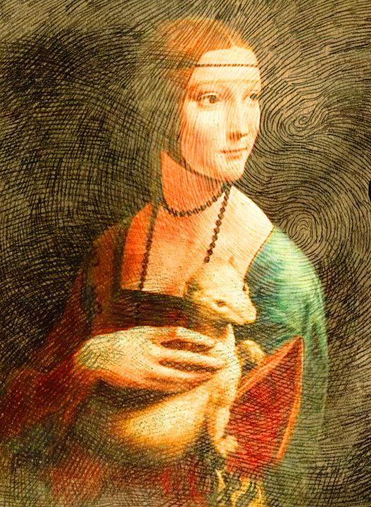 Leonardo's Reinterpretation/2 - Cristina Cerminara