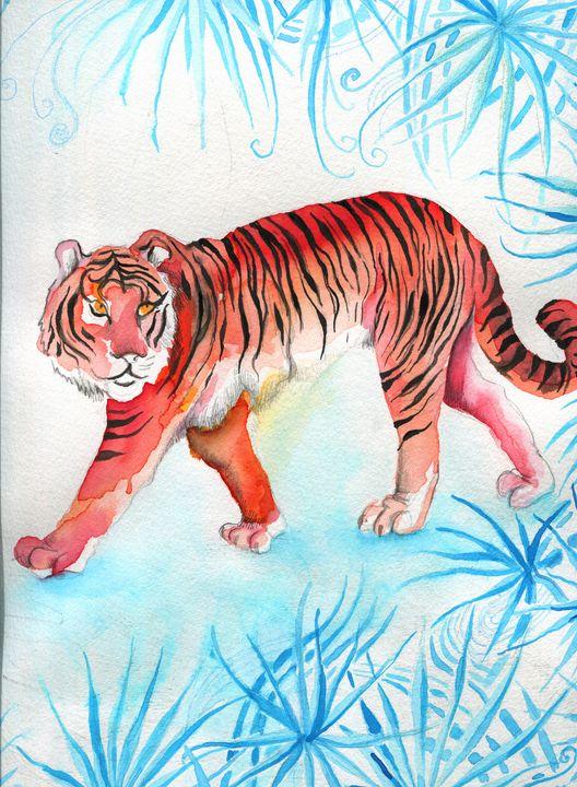 The tiger walk - Cristina Cerminara