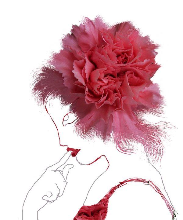 Flower Ladies n.2 - Cristina Cerminara