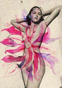 Flower Lady n.5 - Cristina Cerminara
