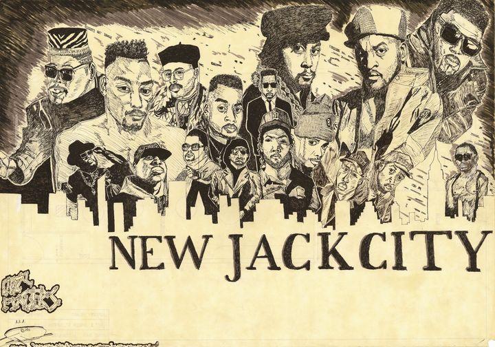 New Jack City - Crazy Fingers