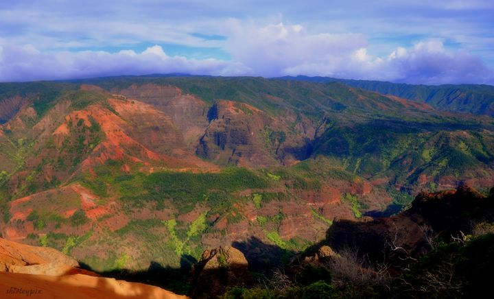 Waimea Canyons - Shirleypix Art & Photography