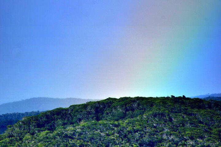 Rainbow - Waimea Canyons - Shirleypix Art & Photography
