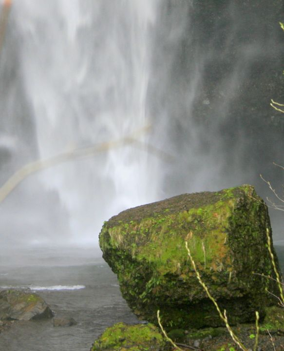 Rocking the Falls - Shirleypix Art & Photography