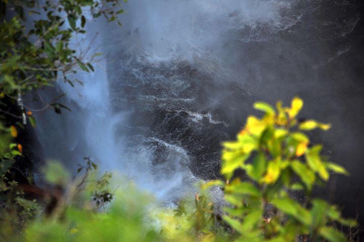 The bottom of Opaeka'a Falls - Shirleypix Art & Photography