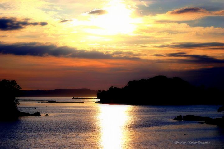 Sunset on the 99 Islands - Shirleypix Art & Photography