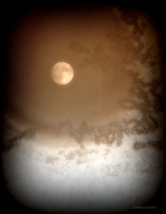 Moon Glow - Shirleypix Art & Photography