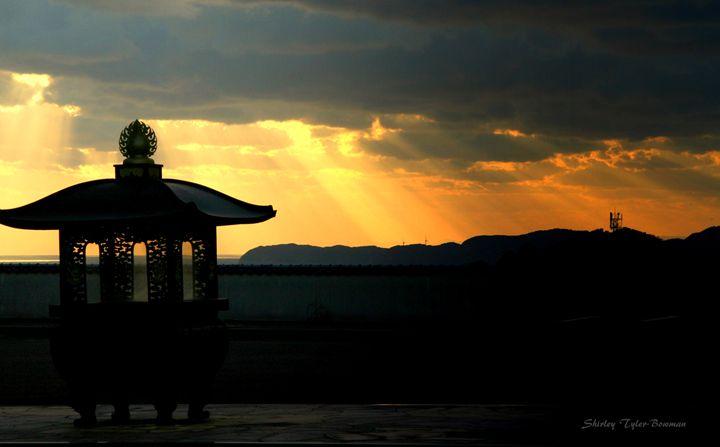 Golden Sunset - Shirleypix Art & Photography