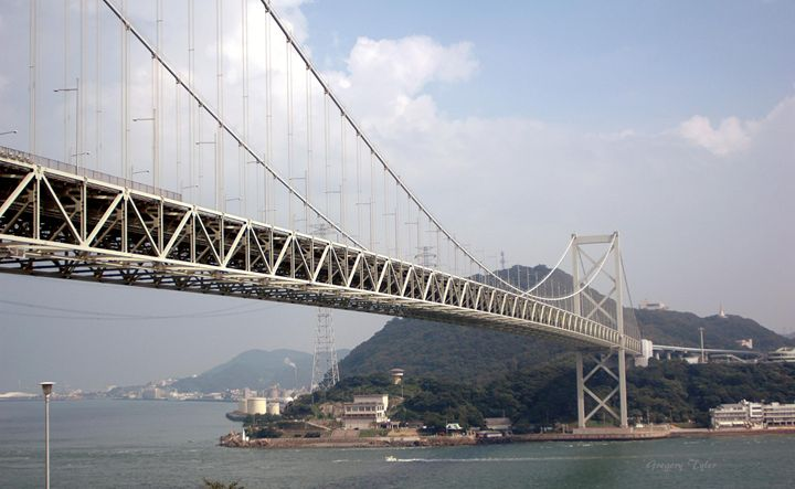 Innoshima Bridge - Shirleypix Art & Photography
