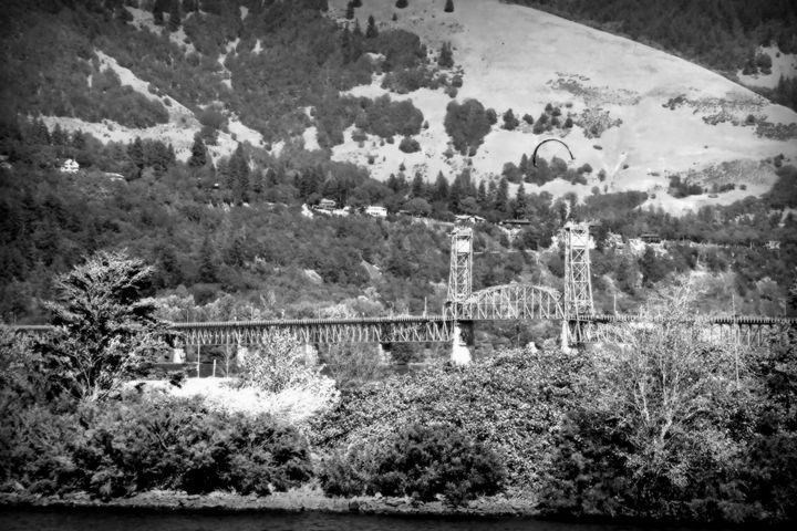 Hood River Bridge - Shirleypix Art & Photography