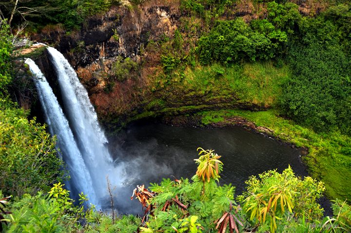 Opaeka'a Waterfalls, Kauai, HI - Shirleypix Art & Photography