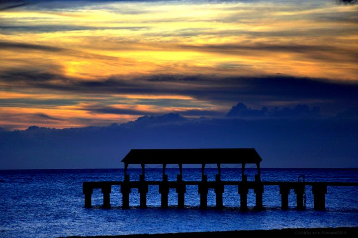 Sitting on the dock of the bay - Shirleypix Art & Photography