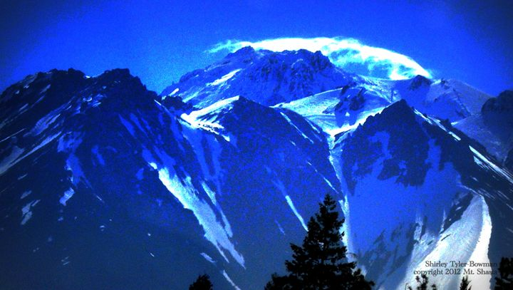 Mt. Shasta - The Top - Shirleypix Art & Photography