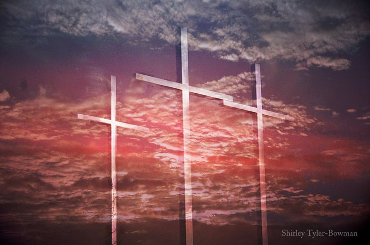 The Cross in the Middle 2 - Shirleypix Art & Photography