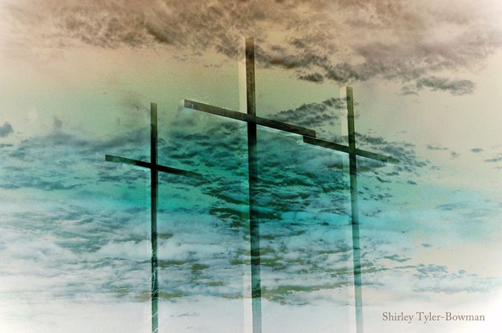 The Cross in the Middle - Shirleypix Art & Photography