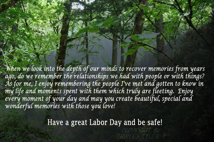 A Labor Day Wish - Shirleypix Art & Photography