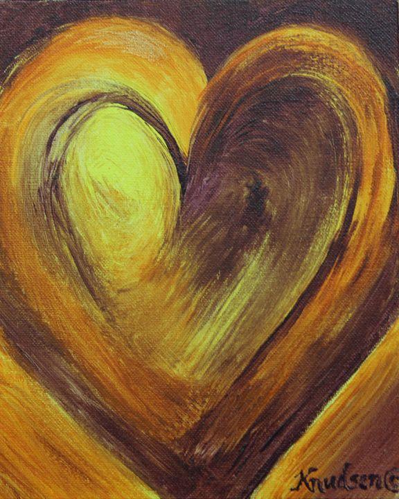 Purple and Gold Love! - Darcey Knudsen