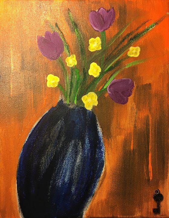 Falling Vase - Julie Irven