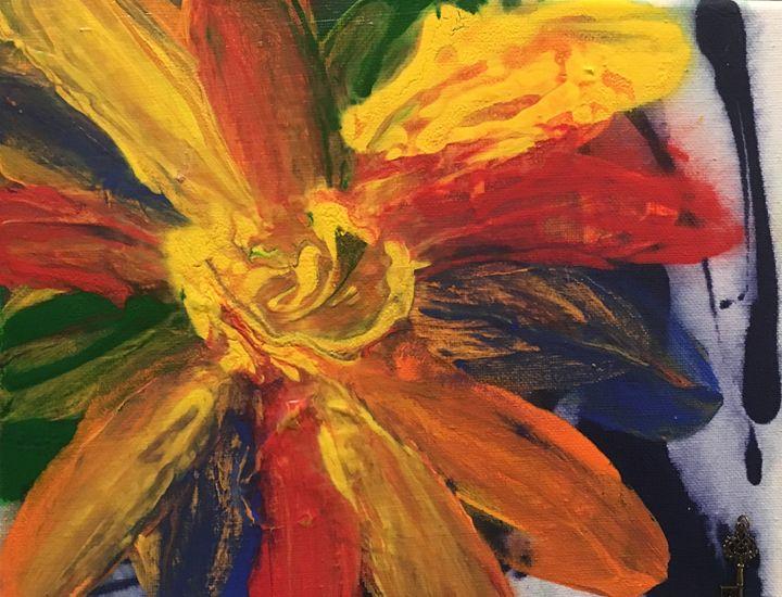 Happy Flower - Julie Irven