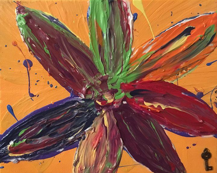 Happy Flower 2 - Julie Irven