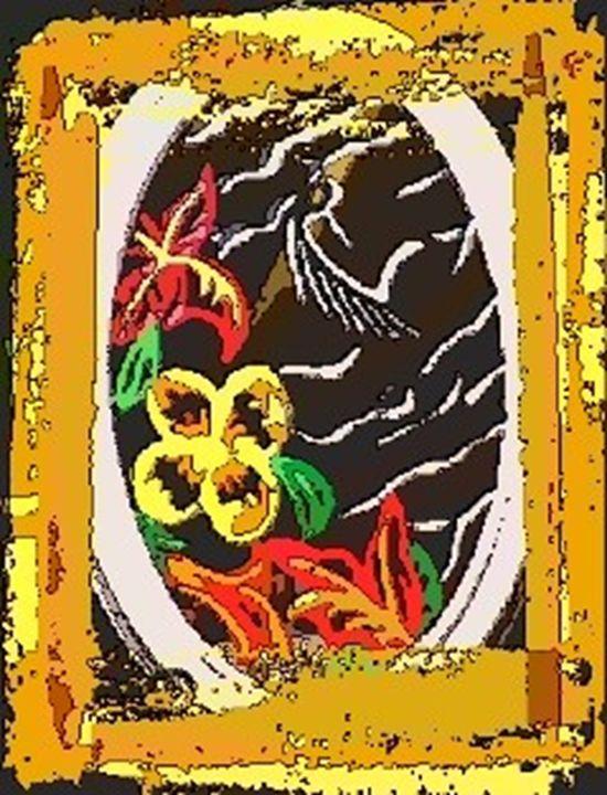 Sleeping Zebra Eye Print - MIRRORARTIST