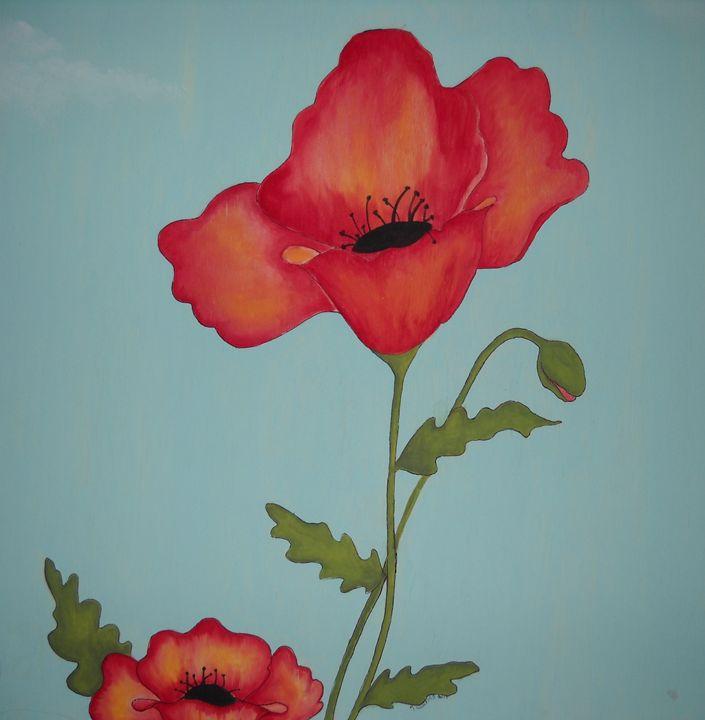 Red poppy - Kathryn Watkins