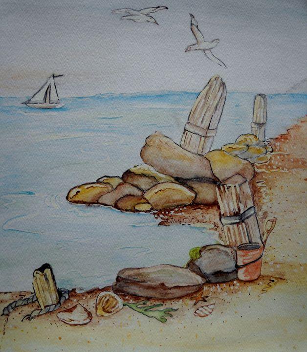Washington shore - Kathryn Watkins