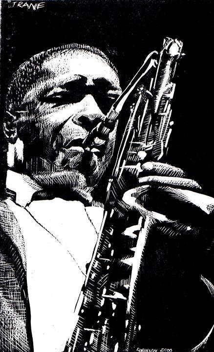 Coltrane - Dwight Robinson