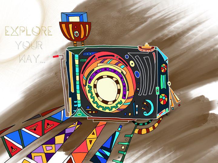 Explore Your Way Retro Camera V2 - JYL