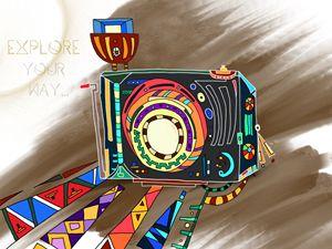 Explore Your Way Retro Camera V2